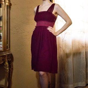 af70757a03 Vintage 1970's Chloe Silk Crochet Dress